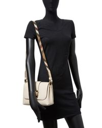 Burberry - Natural Leather Crossbody Bag - Lyst