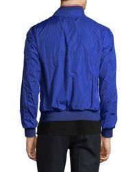 Moncler - Blue Jacket for Men - Lyst