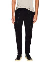 Marcelo Burlon - Black Lake Twill Pants for Men - Lyst