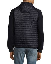 Save The Duck - Blue Hooded Jacket for Men - Lyst