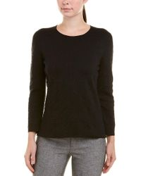 Akris - Black Silk-blend Top - Lyst