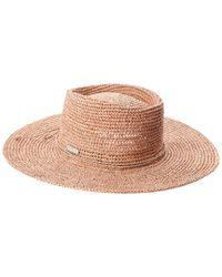 San Diego Hat Company Multicolor Women's Oval Crown Raffia Hat