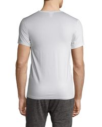Hanro - White Knit Crewneck T-shirt for Men - Lyst