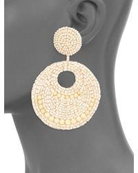 Kenneth Jay Lane | Metallic Bead Earrings | Lyst