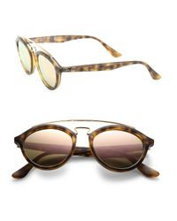 Ray-Ban - Blue 50mm Gatsby Oval Sunglasses - Lyst