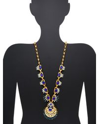 Elizabeth Cole - Multicolor Wyatt Statement Necklace - Lyst
