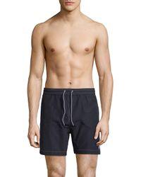 Psycho Bunny - Blue Bunny Swim Shorts for Men - Lyst