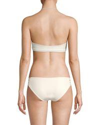 Mikoh Swimwear - Multicolor Italia Full Coverage Macram Bottom - Lyst