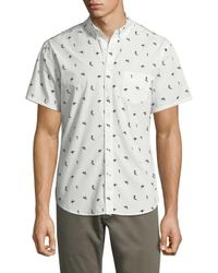 Life After Denim - White Tidal Cotton Sportshirt for Men - Lyst