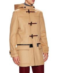 Dior Homme | Natural Solid Duffle Coat for Men | Lyst