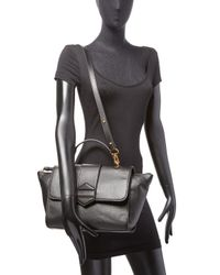 Marc By Marc Jacobs - Black Flipping Out Leather Top Handle Satchel - Lyst