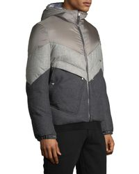 Moncler - Gray Jacket for Men - Lyst