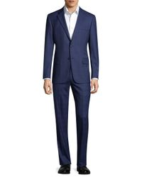 Hickey Freeman - Blue Suit for Men - Lyst