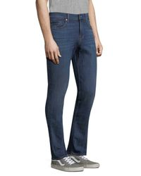 7 For All Mankind - Blue Slimmy 5-pocket Cotton Jeans for Men - Lyst