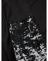 Carolina Herrera - Black Sequined Woven Pants - Lyst