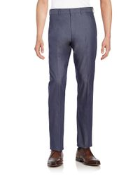 Saks Fifth Avenue - Blue Regular-fit Denim Trousers for Men - Lyst