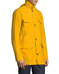 Brooks Brothers - Yellow Out Aldrich Waxed Cotton Jacket for Men - Lyst