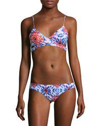 L*Space - Multicolor Rocky Printed Bikini Top - Lyst