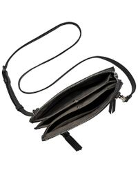Vince Camuto - Black Aylif Leather Crossbody Bag - Lyst