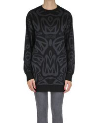 Moschino Couture - Black Virgin Wool Pullover - Lyst