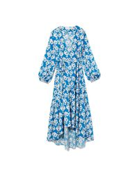 Borgo De Nor - Blue Beatrice Tiered Dress - Lyst