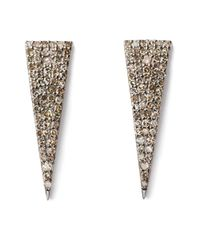 Sheryl Lowe - Multicolor Triangle Earrings - Lyst