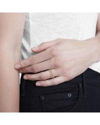 Grace Lee - Metallic Symm Beaded Ring - Lyst