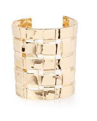 Aurelie Bidermann | Metallic Marella Gold Cuff | Lyst