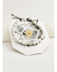 Gorjana & Griffin - Metallic Power Gemstone Howlite Beaded Bracelet For Calming - Lyst