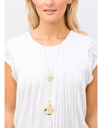 Gorjana & Griffin - Metallic Chloe Toggle Versatile Necklace - Lyst