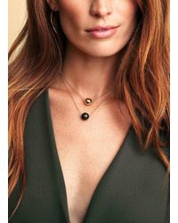 Gorjana & Griffin - Metallic Power Gemstone Howlite Bead Adjustable Necklace For Calming - Lyst