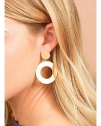 Gorjana & Griffin - Metallic Jagger Cutout Drop Earrings - Lyst