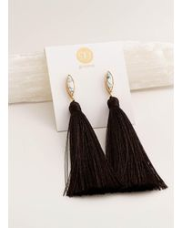 Gorjana & Griffin - Metallic Palisades Tassel Earrings - Lyst