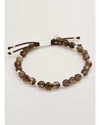Gorjana & Griffin - Metallic Power Gemstone Smoky Quartz Beaded Bracelet For Grounding - Lyst