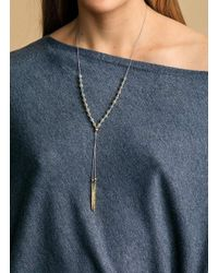 Gorjana & Griffin - Metallic Power Gemstone Labradorite Beaded Necklace For Balance - Lyst