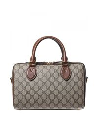 Gucci | Multicolor Small Boston Bag Gg Supreme | Lyst