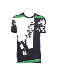 Dolce & Gabbana | Black Music Print T-shirt for Men | Lyst