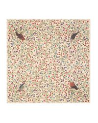 Gucci - Natural Birds Of Prey Modal Cotton Shawl - Lyst