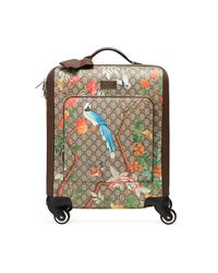Gucci Natural Tian Gg Supreme Carry-on