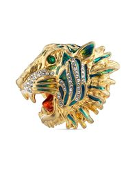 Gucci - Metallic Rajah Ring - Lyst