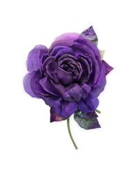 Gucci | Purple Flower Brooch In Silk And Cotton | Lyst