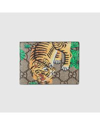 ef24117c3e63 Gucci Bengal Wallet for Men - Lyst