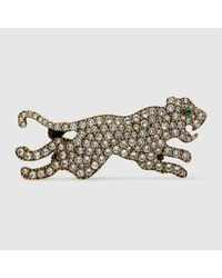Gucci | Multicolor Multi-finger Ring With Tiger | Lyst