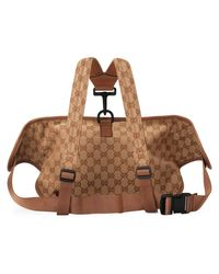 Gucci - Brown Gürteltasche mit LA AngelsTM-Patch for Men - Lyst