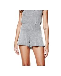 Guess   Multicolor Nadia Mid-rise Flirty Shorts   Lyst