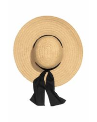 H&M - Black Paper Straw Sun Hat - Lyst