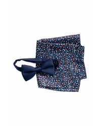 H&M | Blue Bow Tie And Handkerchief for Men | Lyst