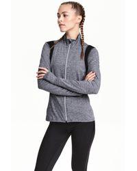 H&M | Gray Running Jacket | Lyst