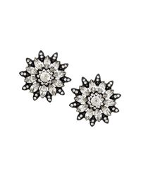 H&M | Black Sparkly Earrings | Lyst