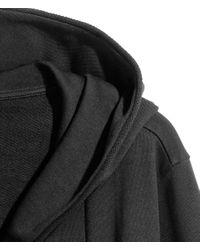 H&M - Black Sweatshirt Cardigan for Men - Lyst